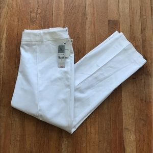 NWT Worthington White Cropped Pants